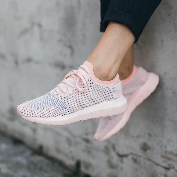 804fc3c86f782 adidas Shoes - RARE Adidas Swift Run Primeknit PK Pink Sneaker 👟